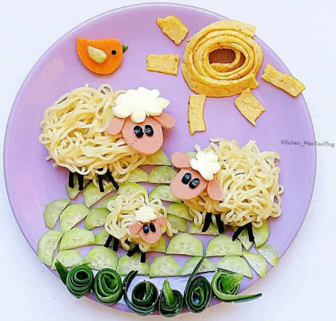 Как сделать Цветные Спагетти? - YouTube | 649x678