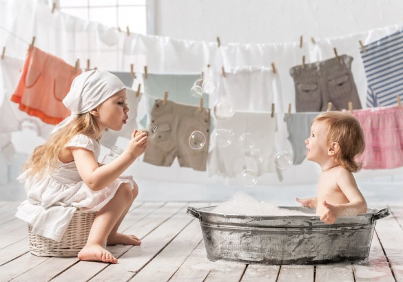 Рейтинг детских порошков для стирки