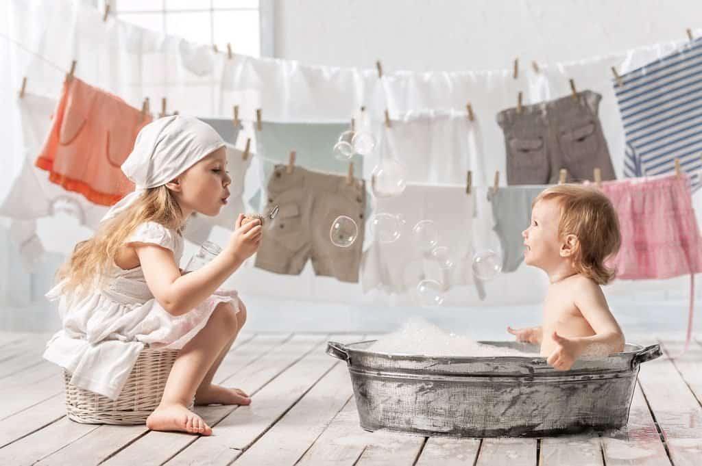 Натуральный детский стиральный порошок