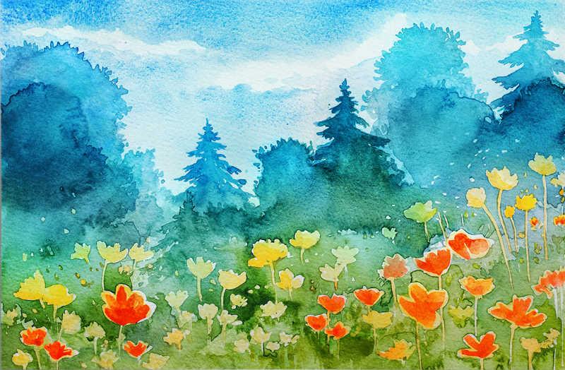 spring_watercolor