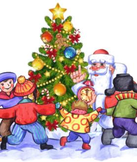 Сказка про волшебный праздник Новый год