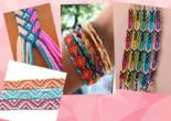 Как плести фенечки: простые и сложные схемы плетения